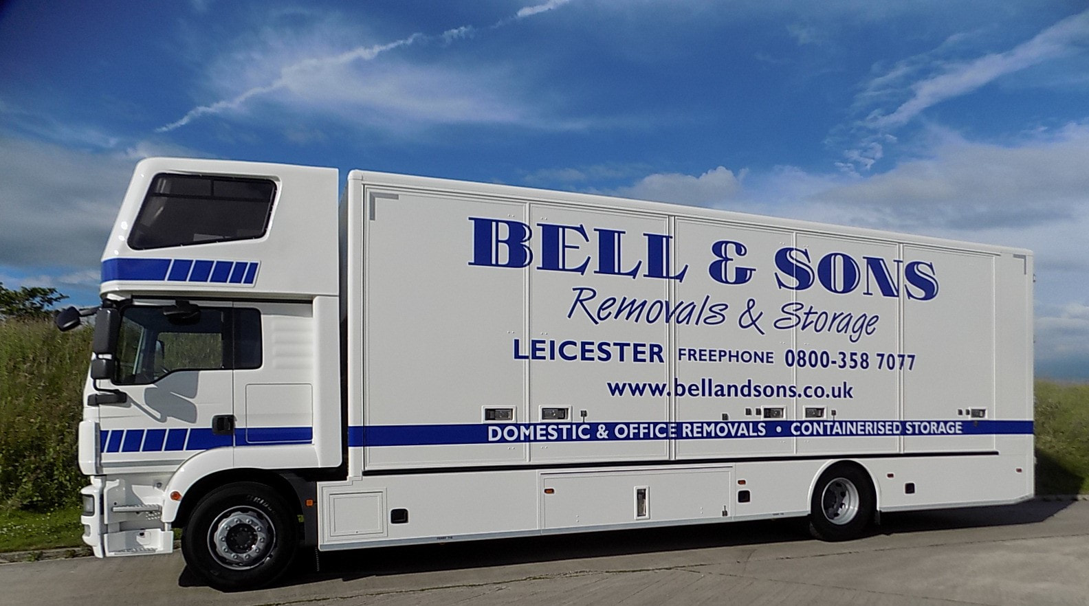 bell and sons removal truck